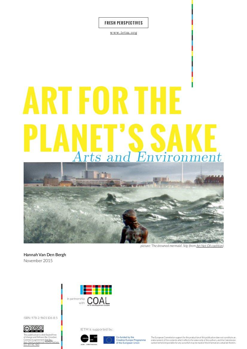 arts and environment