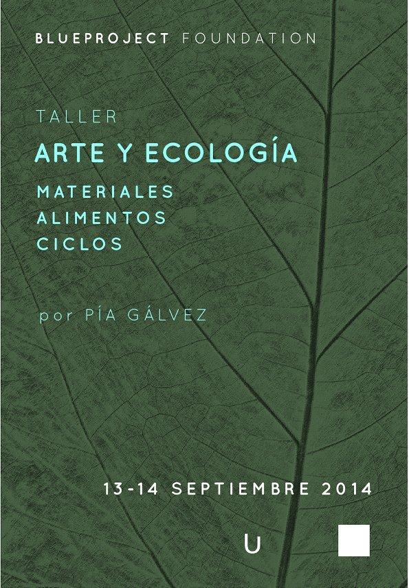 taller arte y ecologia materiales alimentos ciclos