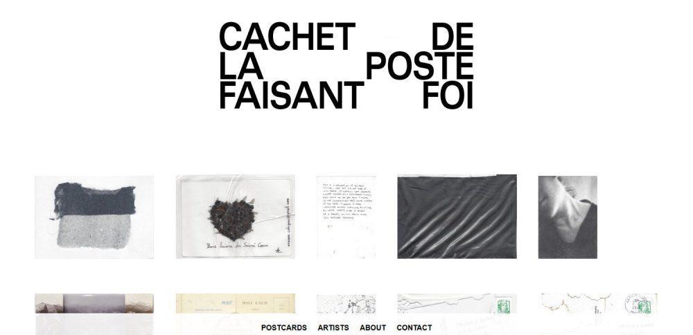 Exposición Cachet de la poste online