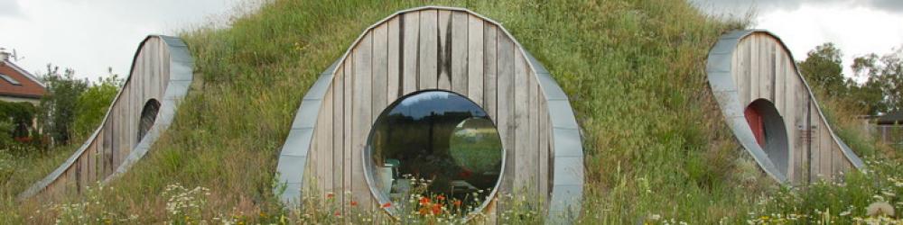 cupula balas de paja | arquitectura medioambiental